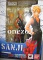 Bandai One Piece Figuarts Zero Sanji (Battle ver.)