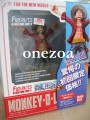 Bandai One Piece Figuarts Zero Monkey D. Luffy (The New World ver.)