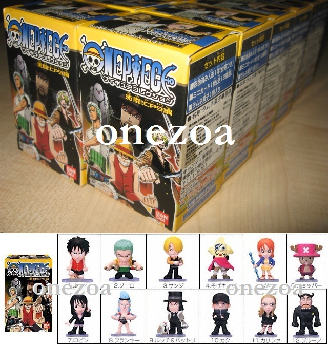 Bandai One Piece Figure Collection FC 6 Fierce Fighting CP9