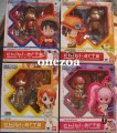 SALES ~ Bandai One Piece Chibi-Arts (combo set of 4) Luffy Ace Nami Perhona