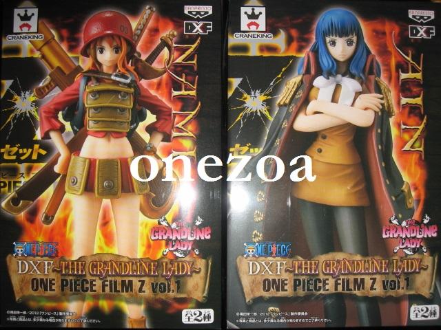 Film Z DX Figure The Grandline Lady Vol 1 ONE PIECE Ain Banpresto