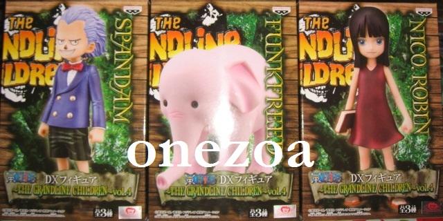 DX Figure The Grandline Children Vol 4 ONE PIECE Nico Robin Banpresto
