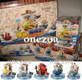 MegaHouse One Piece Yura Yura Wobbling Pirate Ships Collection Vol.1
